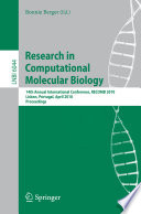Research in Computational Molecular Biology  : 14th Annual International Conference, RECOMB 2010, Lisbon, Portugal, April 25-28, 2010, Proceedings