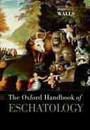 The Oxford Handbook of Eschatology Pdf/ePub eBook