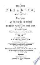 A Treatise on Pleading  and Parties to Actions Book