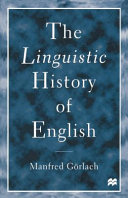 The linguistic history of English
