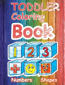 Toddler Coloring Book Numbers   Shapes