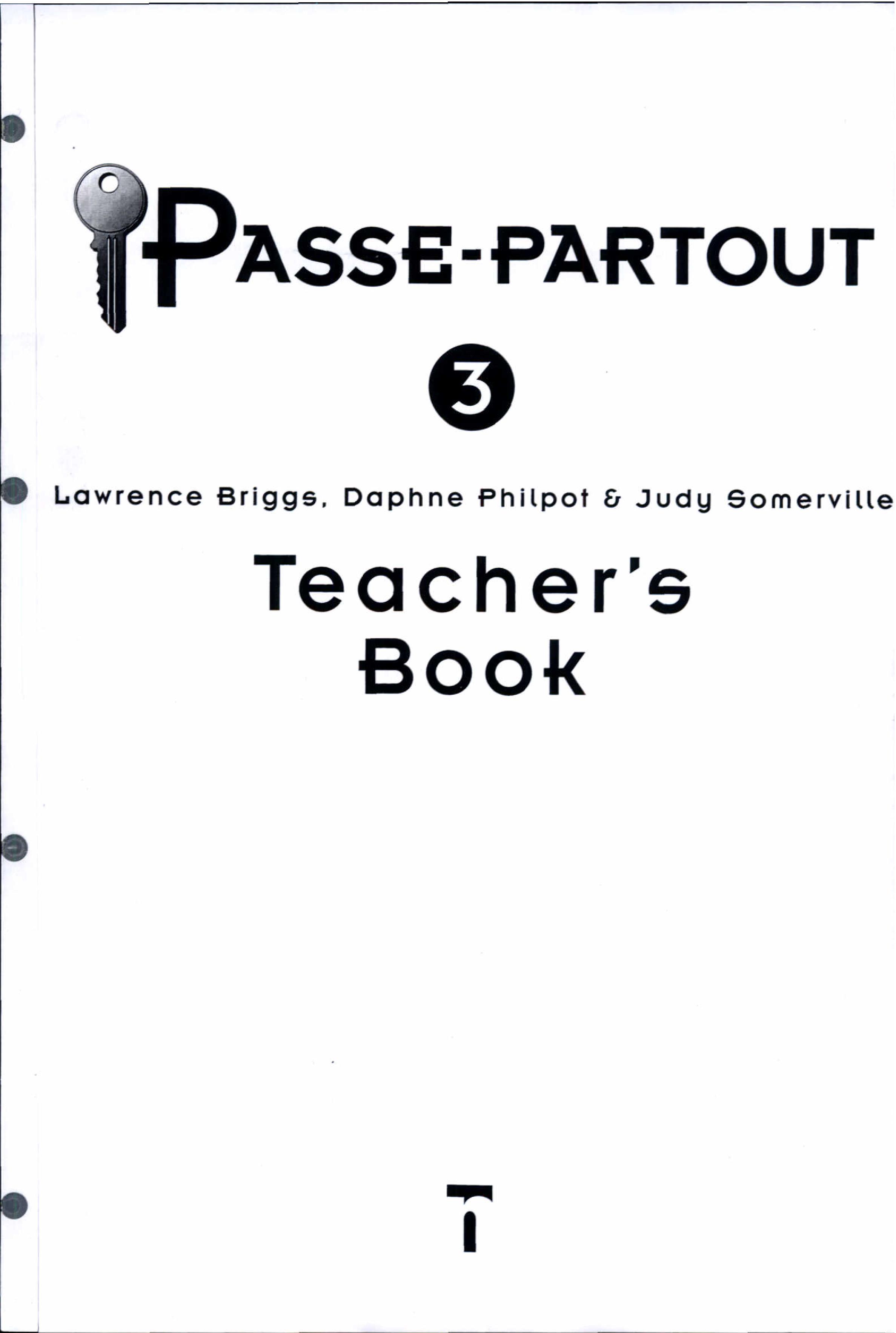 Passe Partout 3   Teacher s Book