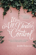 It's All Under Control Book