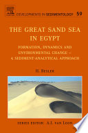 The Great Sand Sea in Egypt Book