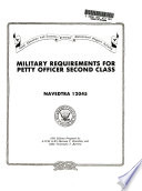Military Requirements For Petty Officer Second Class