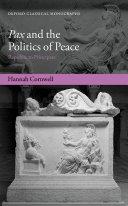 Pax and the Politics of Peace [Pdf/ePub] eBook