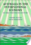 Australia In The International Economy