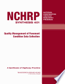 Quality Management of Pavement Condition Data Collection