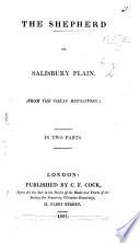 The Shepherd of Salisbury Plain  Etc   By Z   I e  Hannah More   Book