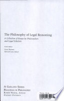 Moral Theory And Legal Reasoning Book PDF