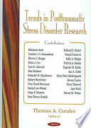 Trends in Posttraumatic Stress Disorder Research Book