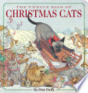 The Twelve Days of Christmas Cats Oversized Padded Board Book Book