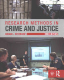 Cover of Research Methods in Crime and Justice
