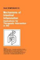 Mechanisms of Intestinal Inflammation