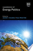 Handbook of Energy Politics