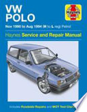 VW Polo Petrol (Nov 90 - Aug 94) H To L