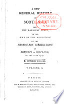 A New General History Of Scotland