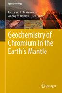 Geochemistry of Chromium in the Earth's Mantle Pdf/ePub eBook