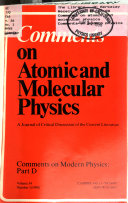 Comments on Atomic and Molecular Physics