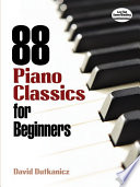 88 Piano Classics for Beginners Book