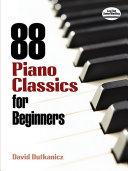 88 Piano Classics for Beginners [Pdf/ePub] eBook