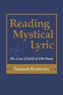 Reading Mystical Lyric