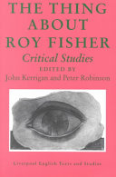 The Thing about Roy Fisher