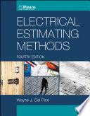 """Electrical Estimating Methods"" by Wayne J. Del Pico"