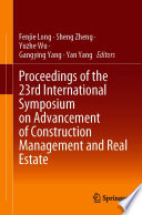Proceedings of the 23rd International Symposium on Advancement of Construction Management and Real Estate Book