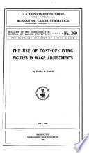 The Use of Cost-of-living Figures in Wage Adjustments