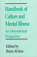 Handbook of Culture and Mental Illness