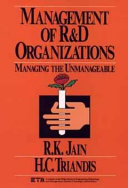 Management of Research and Development Organizations Book PDF