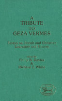 A Tribute to Geza Vermes