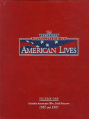 The Scribner Encyclopedia of American Lives  1981 1985