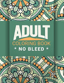 Adult Coloring Book No Bleed