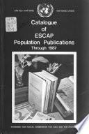 Catalogue of ESCAP Population Publications Through ...