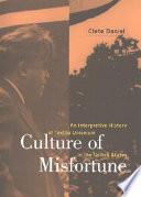 Culture Of Misfortune Book PDF