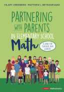 Partnering With Parents in Elementary School Math Pdf/ePub eBook