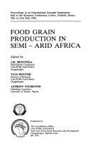 Food Grain Production in Semi arid Africa