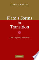 Plato s Forms in Transition Book