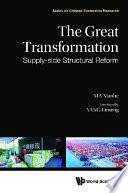 Great Transformation  The  Supply side Structural Reform Book
