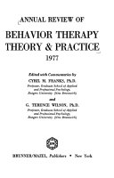 Annual Review of Behavior Therapy