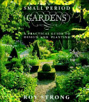 Small Period Gardens Book