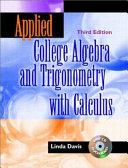 College Algebra And Trigonometry [Pdf/ePub] eBook
