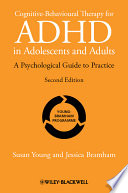 Cognitive Behavioural Therapy for ADHD in Adolescents and Adults