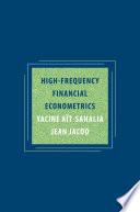 High Frequency Financial Econometrics