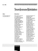 Neuroimmunomodulation Book