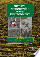 Nitrate  Agriculture  and the Environment