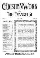 Pdf The Christian Work and the Evangelist