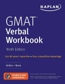 GMAT Verbal Workbook